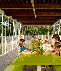 Small Picture Interface Design SpaceOutdoor classroom inspiring green teaching