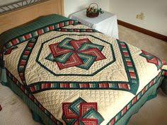 Autumn Star Spin Quilt | Quilting | Pinterest | Spin, Autumn and Star & Star Spin Quilt -- wonderful carefully made Amish Quilts from Lancaster  (hs1688) Adamdwight.com