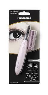 panasonic heated eyelash curler. amazon.com : panasonic heated eyelash natural curler | eh-se10p p pink lash beauty