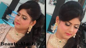 endearing reception hairstyle for south indian bride on indian wedding makeup modern reception look for bride
