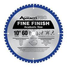 Diablo 10 In. X 80 Tooth Ultra Finish Saw Blade D1080X   The Home Depot
