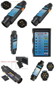 best 20 trailer light wiring ideas on pinterest rv led lights Trailer Wiring Test Box [visit to buy] diagnostic tool 7 pin vehicle car towing trailer light car trailer trailer wiring test box