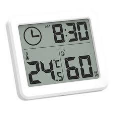 <b>MoesHouse Multifunction Thermometer Hygrometer</b> Automatic ...