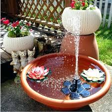 small hummingbird bath fountain diy bird yards and gardens can still have big punch with a hummingbird bath