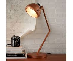Indian Hub Copper Standing Table Lamp