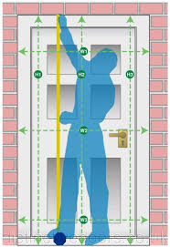 guidelines for measuring a door with a new frame