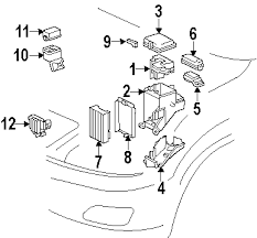 2009 lexus rx 350 fuse box diagram 2009 image parts com lexus cover junction bloc partnumber 8267248050 on 2009 lexus rx 350 fuse box diagram