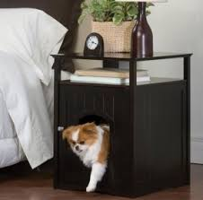 Nightstand Dog Crate Foter
