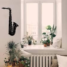 metal wall art saxophone interior