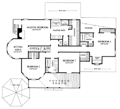 farmhouse southern victorian house plan 86291 level two
