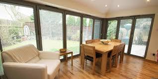 house extension with corner bi fold doors