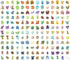 Pokemon Character Chart Good For Character Ideas Pokemon