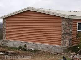 Log Siding Spice Idea for residing the house Our little house