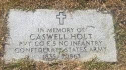 Caswell Wesley Holt (1835-1863) - Find A Grave Memorial