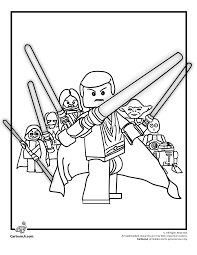 Small Picture Lego Star Wars Coloring Page Woo Jr Kids Activities