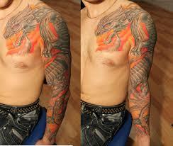 тату мужские на рукаве эскизы тату рукава подобные грубые