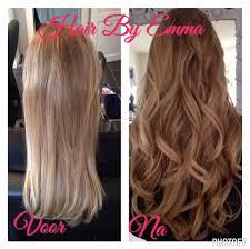 Hairextensions Thuis Laten Plaatsen En In Model Brengen Hair By Emma