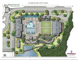 plan for second clubhouse in bay forest coastal delaware