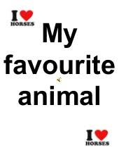 my favourite animal