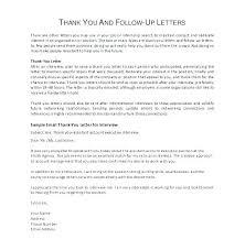 Thank You Letter For Telephone Interview Follow Up Letter After Interview Email Samples Template