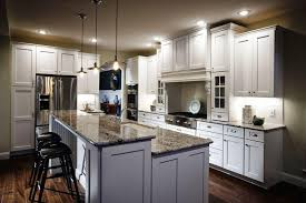 light gray shaker kitchen cabinets