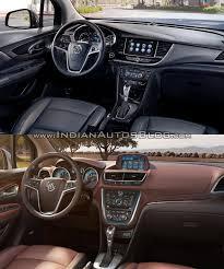buick encore interior. 2017 buick encore vs 2013 interior dashboard