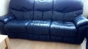 blue leather reclining sofa blue leather reclining sofa dark blue leather reclining sofas navy blue leather