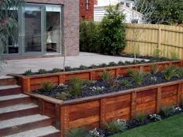Small Picture Benefits of Wooden Retaining Walls