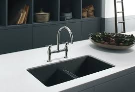 image of kitchen sink with drainboard