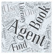 Getting A Book Published How To Find A Literary Agent Word Cloud