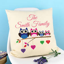 Owl Bedroom Accessories Patterned Cushions Notonthehighstreetcom