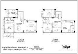Download Duplex Floor Plans With 3 Car Garage  Adhome4 Bedroom Duplex Floor Plans