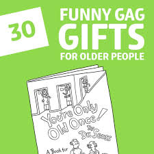 30 funny gifts for older people
