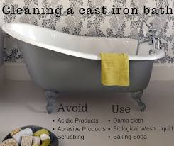enamel steel bathtubs luxury how do i clean my cast iron bath image