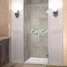 home depot frameless shower doors in x in completely hinged shower door home depot frameless shower