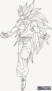 Small Picture Goku sketch for Colouring