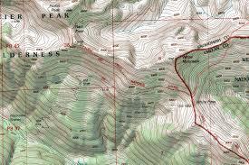 white mountain topographic map  photos diagrams  topos  summitpost