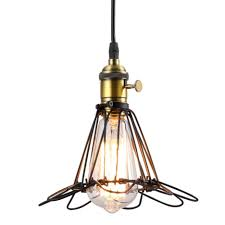lighting black farmhouse pendant light industrial bulb pendant light backyard light post rustic cage lighting