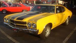 Chevrolet Chevelle SS Coupe (Gibeau Orange Julep) - Chevrolet ...