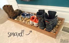 Decorative Boot Tray Drip Tray' for Muddy or Wet Shoes Reality Daydream 8