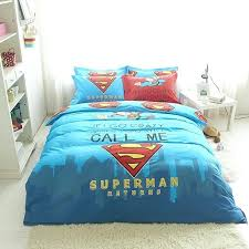 superman bedding sets pure cotton kids superman bedding twin queen size cartoon bed linens duvet cover superman bedding sets