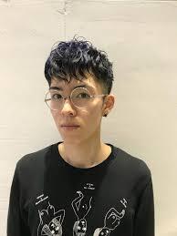 刈り上げ ショート パーマ ナチュラルmods Hair金沢 Mino Takahiro