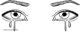 anime eyes crying.  Eyes Easy Anime Eye Drawings How To Draw Eyes Crying Step By Image  Gallery On I