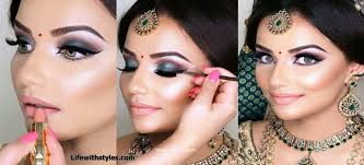 life with styles best bridal makeup video tutorial by indian makeup artist life with styles