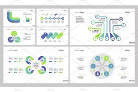 Business Efficiency Diagram Set Layout Diagram Annual