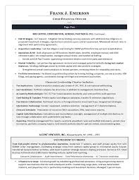 Examples Of Winning Resumes Impressive Sample CFO Resume Example Of Executive Resume Trends 48