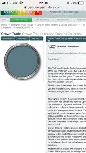 Crown Trade Colour Collection Colour Chart Pin By Rosie On Interior Design Colours Victorian