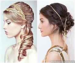 šaty V řeckém Stylu Objevte Obraz Bohyně účesy V řeckém Stylu Pro