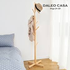 Pine Coat Rack Simple Wood Coat Rack Hanger Creative Fashion IKEA Interior Pine 72