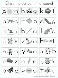 Phonics Worksheets Kindergarten Coloring Pages Phonics Worksheets ...